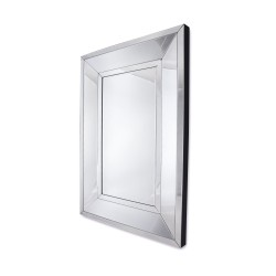 Prostokątne lustro dekoracyjne w fazowanej ramie lustrzanej - Ava 140x100.jpg