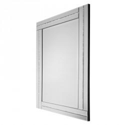 Prostokątne lustro dekoracyjne w ramie lustrzanej - Ariana 80x120