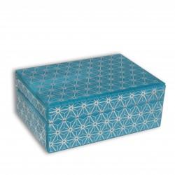 Szklana szkatułka na biżuterię Aurora