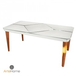 Nowoczesny stół lustrzany Mazzini