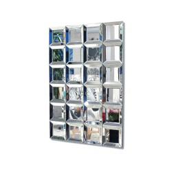 Martinozzi- prostokątne lustro dekoracyjne AH8881