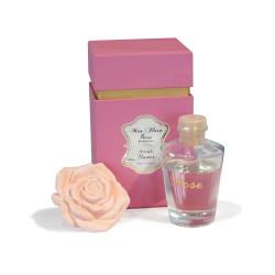 Odświeżacz powietrza we flakonie zapach Rose