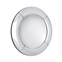 Bitonto- okrągłe lustro z zaokrągloną, lustrzaną ramą