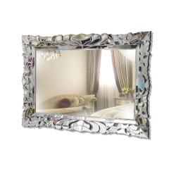 Persefona 120x80cm- prostokątne lustro dekoracyjne w lustrzanej ramie
