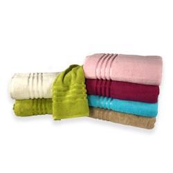 Kolorowe ręczniki frote