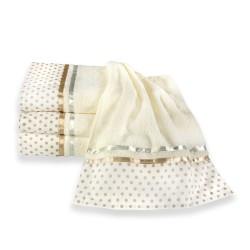 Ekskluzywny ręcznik bawełniany - kropki