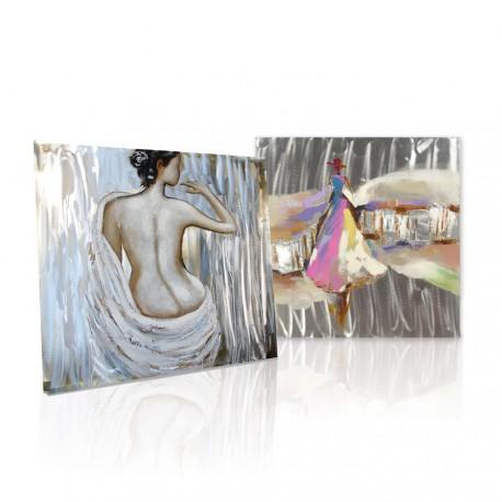 Obrazy olejne z motywem postaci