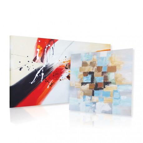 Abstrakcyjne obrazy olejne